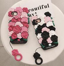 Rosa 3D Rose Carino Cover Shell phone case per iPhone 6/6S 7 Plus Regalo Hot