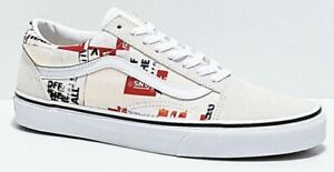 VANS OLD SKOOL ( packing tape ) CREAM WHITE  VN0A4U3BWN4