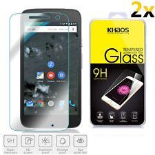 [2-Pack] KHAOS For Motorola Moto G4 Play Premium Tempered Glass Screen Protector