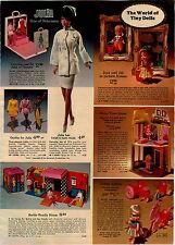 1969 ADVERTISEMENT Doll Julia Nurse Drowsy Bozo Jack Jill Lickety Spliddle