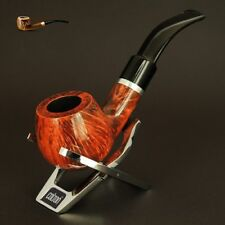 HAND MADE WOODEN TOBACCO SMOKING PIPE BRUYERE no. 74  Orange  Briar  + BOX