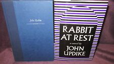 RABBIT at REST ~ John Updike.  HbDj 1990.  4th Rabbit Angstrom  HERE  in MELB!