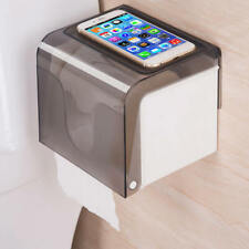 Wall Mounted Bathroom Plastic Toilet Paper Holder Roll Tissue Box Practical XBM