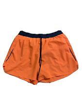 Nike Men's Running Shorts Orange Size L