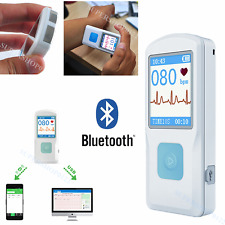New CONTEC PM10 Portable ECG EKG Machine Heart Beat Monitor USB Bluetooth LCD CE