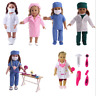 "Handmade Accessories Doctor Nurse Clothes 18"" Inch American Girl Doll Clothes"