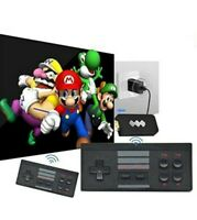 4K Retro Game Stick Console 818 Built-in Games! 2  Wireless controllers!! Mario
