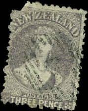 New Zealand  Scott #33 Used