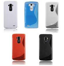 Custodia WAVE S Line per LG G3 D855 D851 Cover Case TPU Morbida Color Gel Gomma