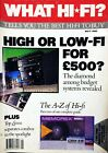 WHAT HI-FI MAY 1990 TUNERS SYSTEMS SPEAKER CABLES CART CD PLAYERS AMPS