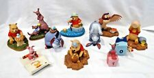 11 DISNEY STORE POOH & FRIENDS FIGURES IN BOXES
