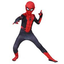 Halloween Kids Boy Spiderman Superhero Cosplay Costumes Fancy Dress Fasching