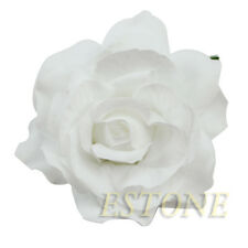 Big Rose Flower Brooch Hair Pins Clips Slides Grip Wedding Bridal Hair Accessory