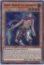 YuGiOh, 3x Raiden, Hand of the Lightsworn - BLLR-EN042 - Ultra Rare, - 1'ST Ed.