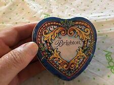 Brighton heart shaped tin