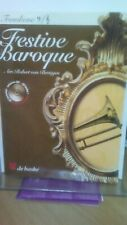 More details for festive baroque for trombone & piano + cd - pub fentone