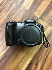 Canon PowerShot S3 IS 6.0MP Digital Camera Black MINTY SD Card