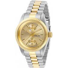 Invicta Women's Watch Specialty Quartz Gold Tone Dial Two Tone Bracelet 29443