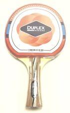 Duplex 6 Star Ping Pong Paddle - Table Tennis Blade w/ Rubber - Beginner Expert
