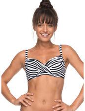 Roxy D-Cup Bra Bikini in Bright White Basic S