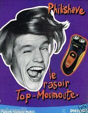 Publicité advertising 1997 Le rasoir Philishave Philips