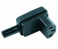 10 x IEC Right Angle Cable Socket Rewireable C13