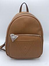 GUESS Handbag Purse Backpack Ladies Baldwinpark Bb637131 Cognac Woman