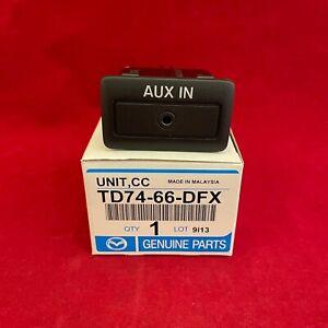 NEW Genuine Mazda OEM Auxiliary Input Jack Module TD74-66-DFX GS3L-66-DFX