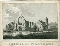 Dudley Priory, Worcestershire Engraving By D. L. IN 1775