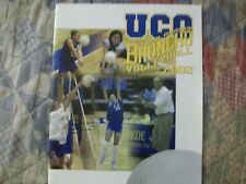 2002 CENTRAL OKLAHOMA VOLLEYBALL MEDIA GUIDE Yearbook Press Book Program College