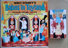 BABES IN TOYLAND - VICTOR HERBERT  -  DISNEYLAND LP +  MOVIE VIDEO TAPE
