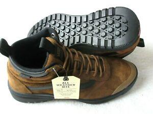 Vans Womens UltraRange Hi DI MTE Boots Dachshund Brown Suede Black Size 8 NWT