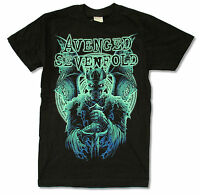 Avenged Sevenfold Knight Black T Shirt New Official Adult A7X