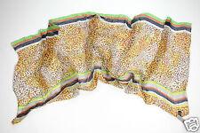 Neu Coccinelle Seide Tuch Schal Halstuch 180cm x 90cm 1-15 (99)