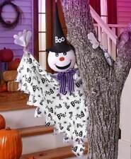 """""""Boo """"Amigable Fantasma Colgante Árbol Pasamano Hugger Halloween Decoración"""