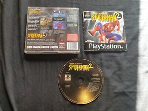 SPIDER-MAN 2 ENTER ELECTRO Sony Playstation 1 Game PS1