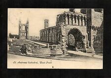 ST ANDREWS CATHEDRAL WEST FRONT. POSTCARD POSTED 1907