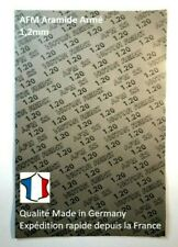 Feuille de joint fibre Aramide AFM Armé Reinz Haute température 1.2mm à découper