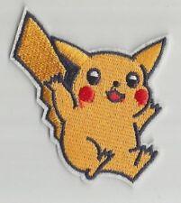 PIKACHU Pokemon Go Nintendo jeu vidéo écusson / patch 6X7cm