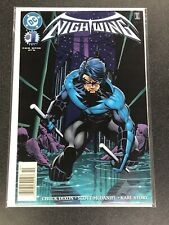 NIGHTWING #1 DC 9.2 NM 1996 1st Mention of BLUDHAVEN, Newsstand