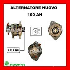 ALTERNATORE NUOVO 100AH PULEGGIA FISSA HONDA CIVIC VII HATCHBACK 1.7 CTDI 4EE-2