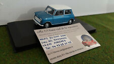 Morris Mini Cooper S Année 1967 Bleu / Blanc 1 43 Solido