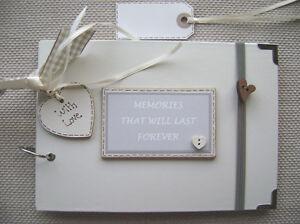 PERSONALISED MEMORIES... A5 SIZE.  PHOTO ALBUM/SCRAPBOOK/MEMORY BOOK