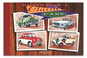 1997 AUSTRALIA'S CLASSIC CARS PRESTIGE STAMP BOOKLET 4x PANES of 4x 45c STAMPS🚘