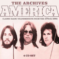 THE ARCHIVES (4CD)  by AMERICA  Compact Disc - 4 CD Box Set  BSCD6080