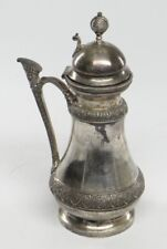 ANTIQUE ROCKFORD SILVER PLATE CO. SYRUP JUG/CONTAINER OR CREAMER~Quadruple 1301