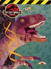 Jurassic Park 3 coloring book RARE UNUSED