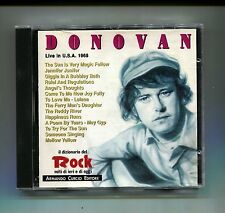 DONOVAN # LIVE IN U.S.A. 1968 # Curcio # CD Rock