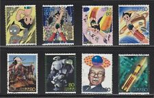 JAPAN 2003 SCIENCE TECHNOLOGY & ANIMATION SERIES ISSUE 1 ASTRO BOY 8 STAMPS USED