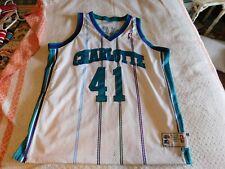 Starter Authentic Glen Rice Charlotte Hornets NBA Jersey HOME SIZE 52 1990s